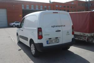 Citroen Berlingo Euro5 Budbil för småtransporter upp till 710 kg maxvikt